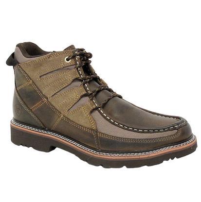 Ariat Mens Wild West Brown Exhibitor Boots
