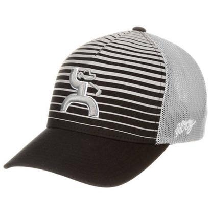 HOOey Golf Collection Striped Flexfit Cap