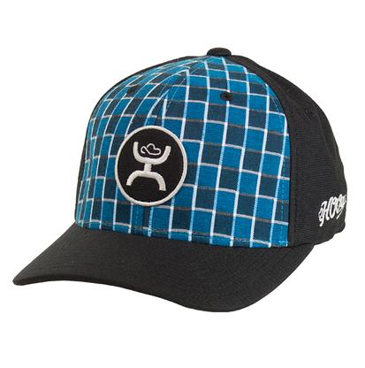 HOOey OHL Check Black & Blue Cap