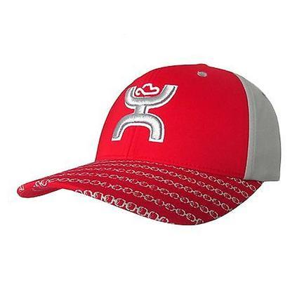 HOOey Red Flexfit Baseball Cap