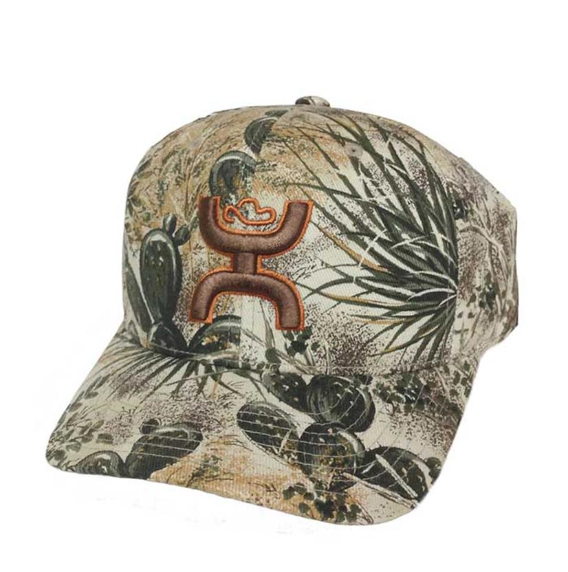 Hooey Youth Camo Gameguard Flexfit Cap