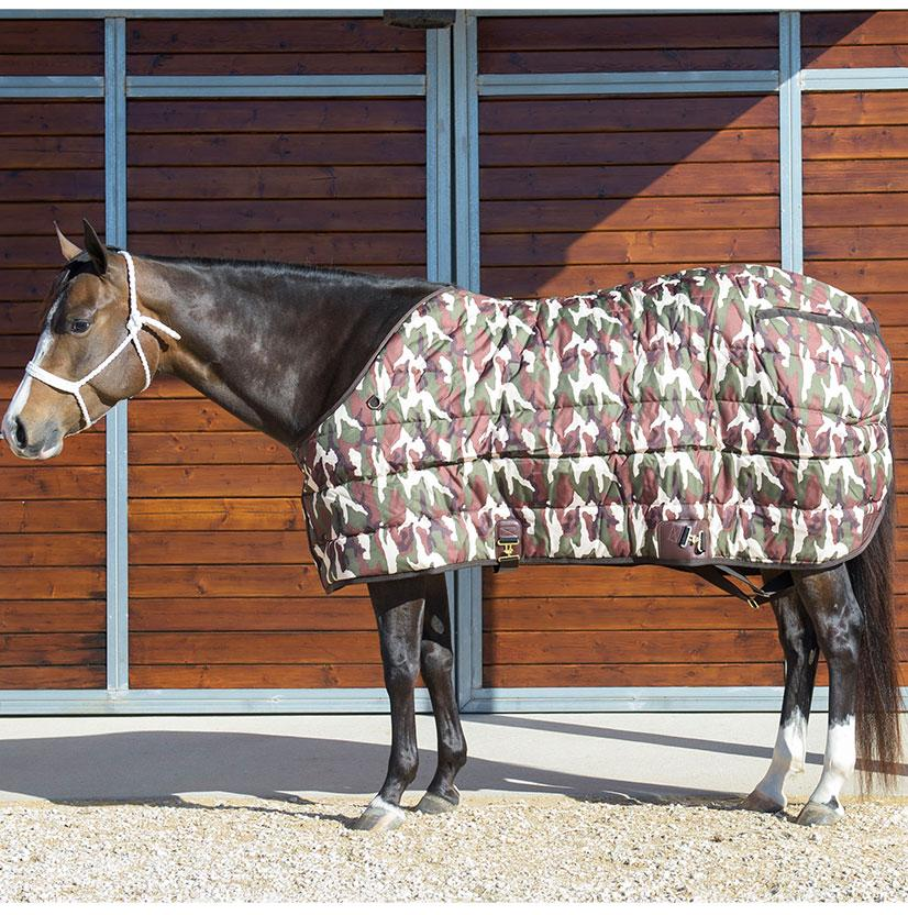 Stt Premier Horse Blanket Green Camo