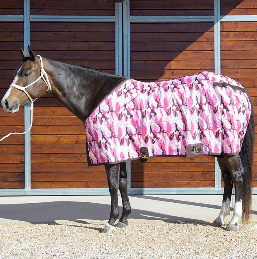 Stt Premier Horse Sheet Pink Camo