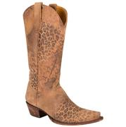 Old Gringo Goat Leopard Top Western Boots