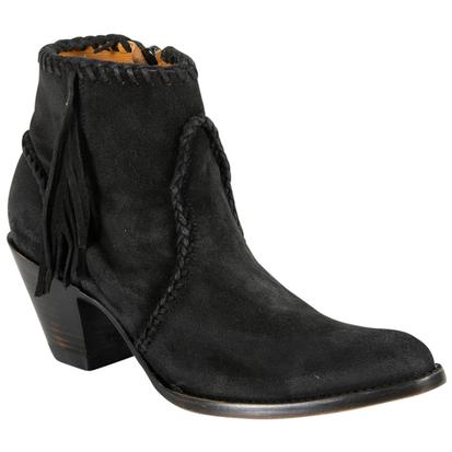 Old Gringo Adela Black Suede Boots