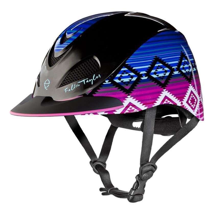 Fallon Taylor Western Performance Helmet Troxel CANDY_SERAPE
