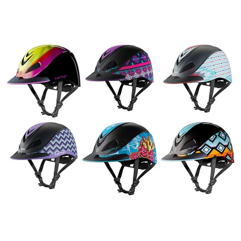 Fallon Taylor Western Performance Helmet Troxel