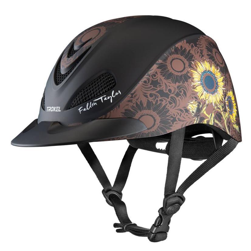 Fallon Taylor Western Performance Helmet Troxel SUNFLOWER