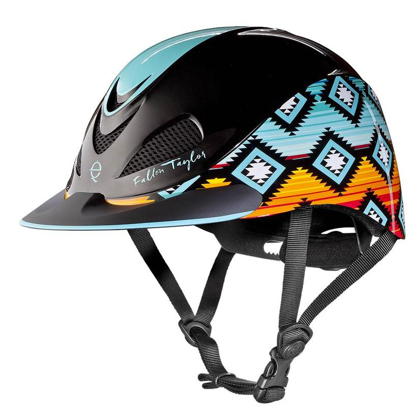 Fallon Taylor Western Performance Helmet Troxel SUNSET_SERAPE