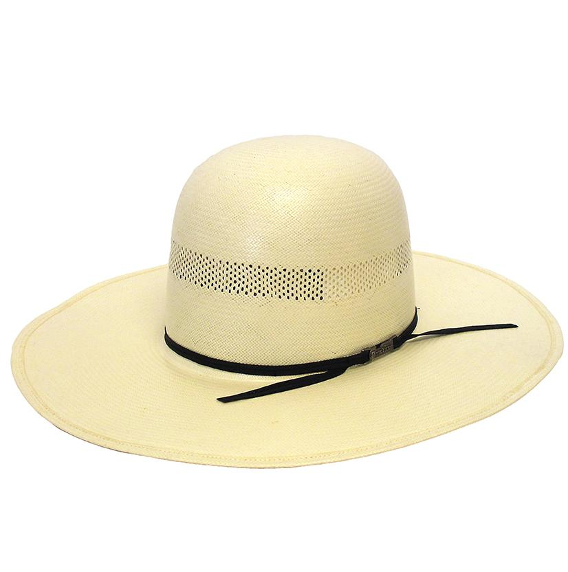 American Hat Company Regular Oval Panama Straw Cowboy Hat
