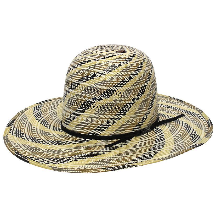 American Hat Company 2c Black Trim 4 1/4 Western Cowboy Hat