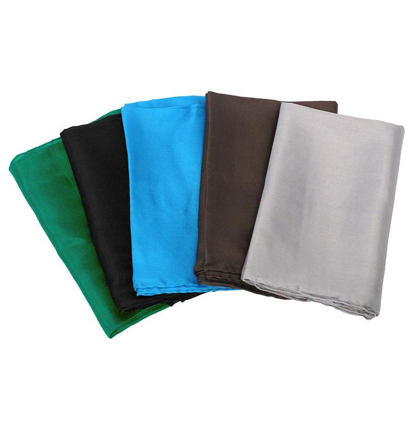 Solid Color Silk Wild Rag