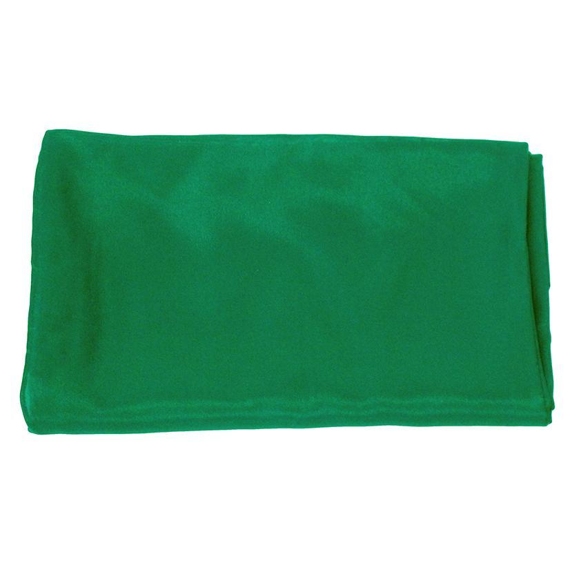 Solid Color Silk Wild Rag GREEN
