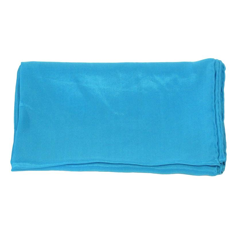 Solid Color Silk Wild Rag TURQUOISE