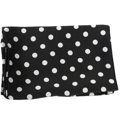 Polk A Dot Wild Rag BLACK_DOTS