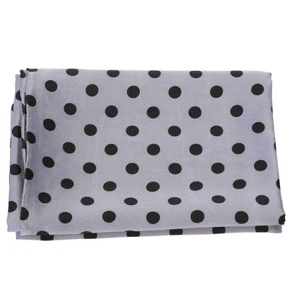 Polk A Dot Wild Rag GRAY_DOTS