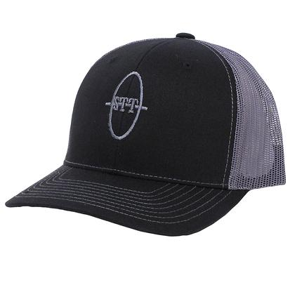 STT Black/Grey Mesh Trucker Cap