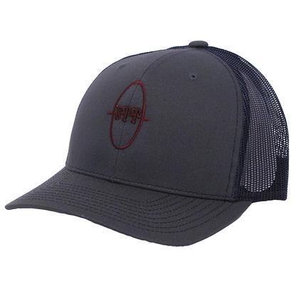 STT Charcoal Grey Mesh Trucker Cap