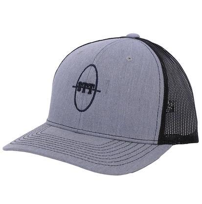 STT Grey/Black Mesh Trucker Cap