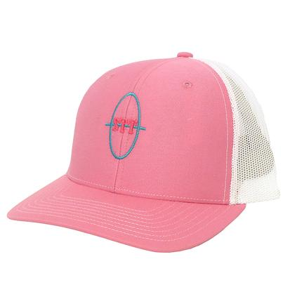STT Pink/White Mesh Trucker Cap