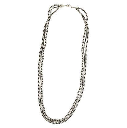 Three Strand Navajo Pearl Necklace