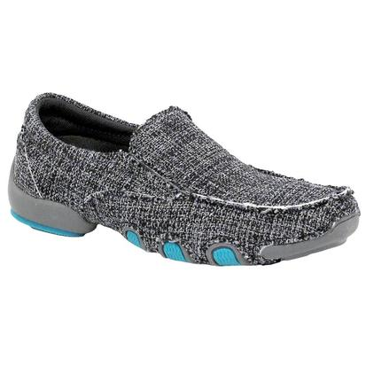 Roper Women's Grey Casual Slip On Shoes