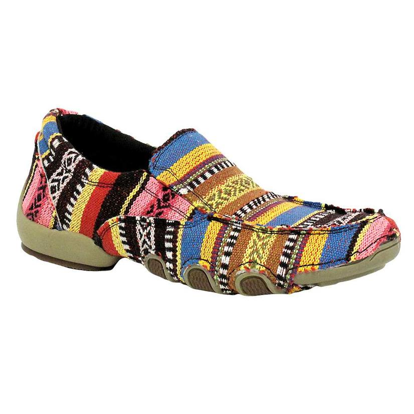 Roper Women's Multi-Colored Casual Slip On Shoes