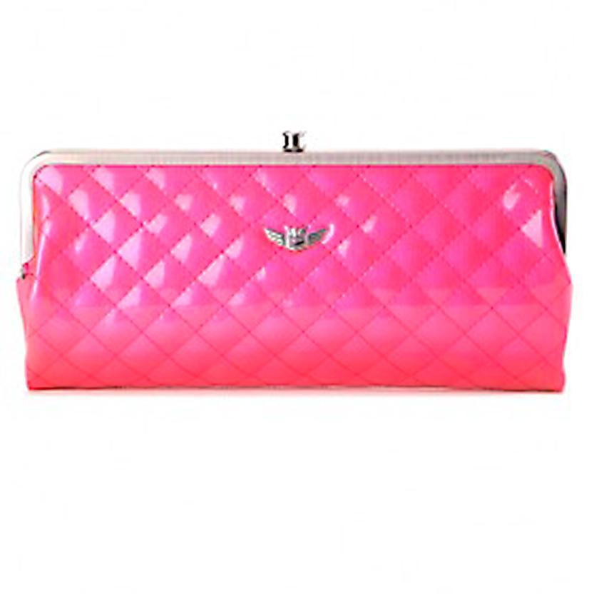 Consuela Coral Clutch PINK