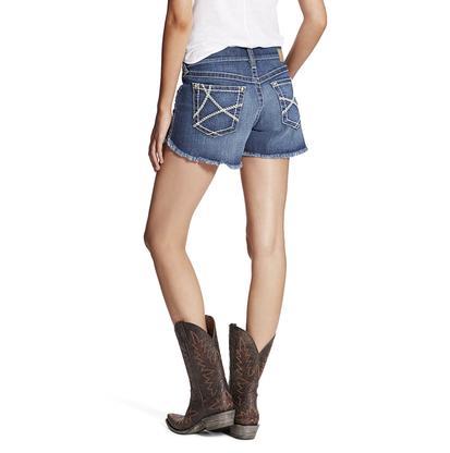 Ariat Boyfriend Womens Wheat Stitched Ella Shorts