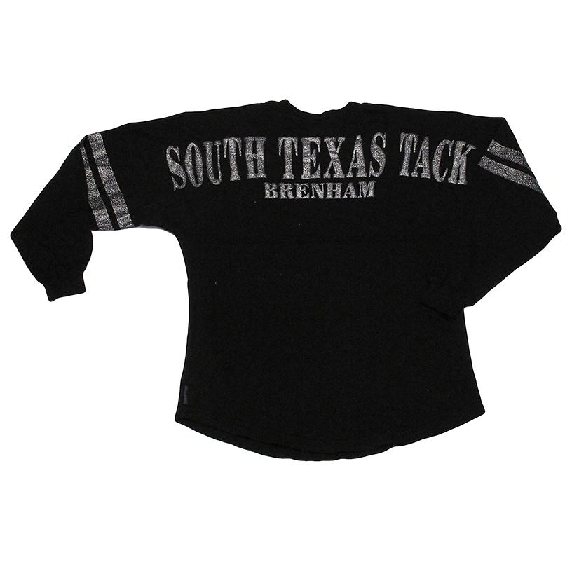STT Womens Spirit Jerseys - Black Silver