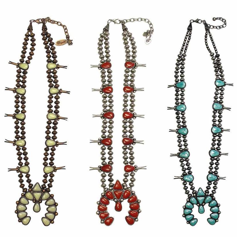 STT Squash Blossom Necklace - Faux