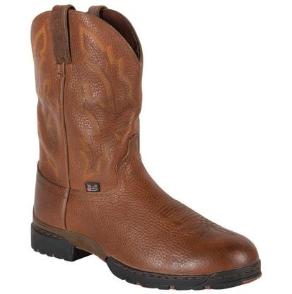 Justin Men's George Strait Sunset Rage Round Toe Boots