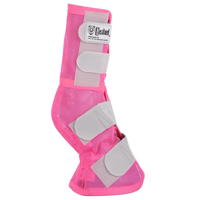 Cashel Crusader Leg Guard - Breast Cancer Pink