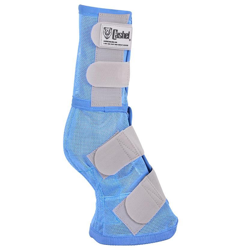 Cashel Wounded Warrior Crusader Fly Leg Guard - Blue
