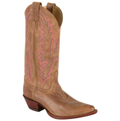 Justin Womens Bent Rail America Burnished Western Boots