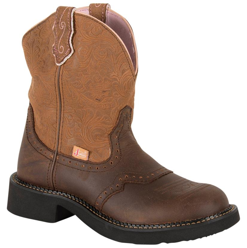 Justin Womens Cafe Brown Gypsy Boots