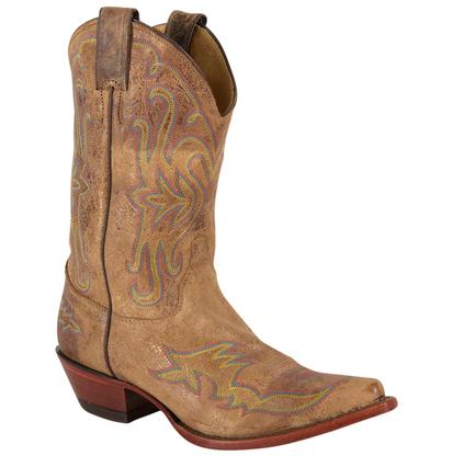 Justin Womens Tan Road Boots
