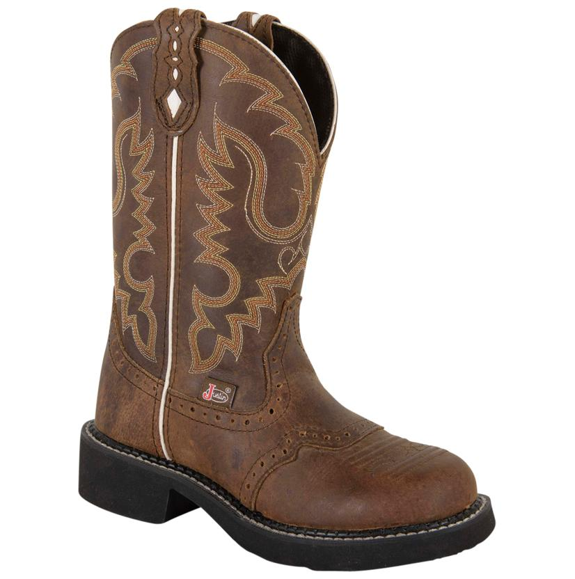 Justin Womens Aged Bark Boot