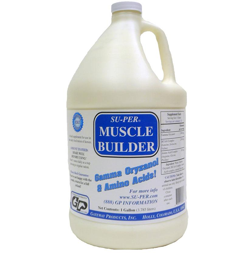 Su- Per Muscle Builder Liquid Gallon