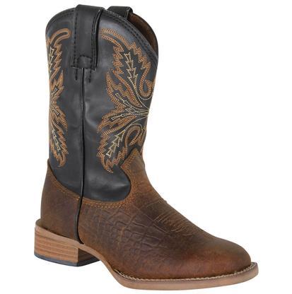 Justin Kids' Bent Rail Coyote Brown Cowboy Boot