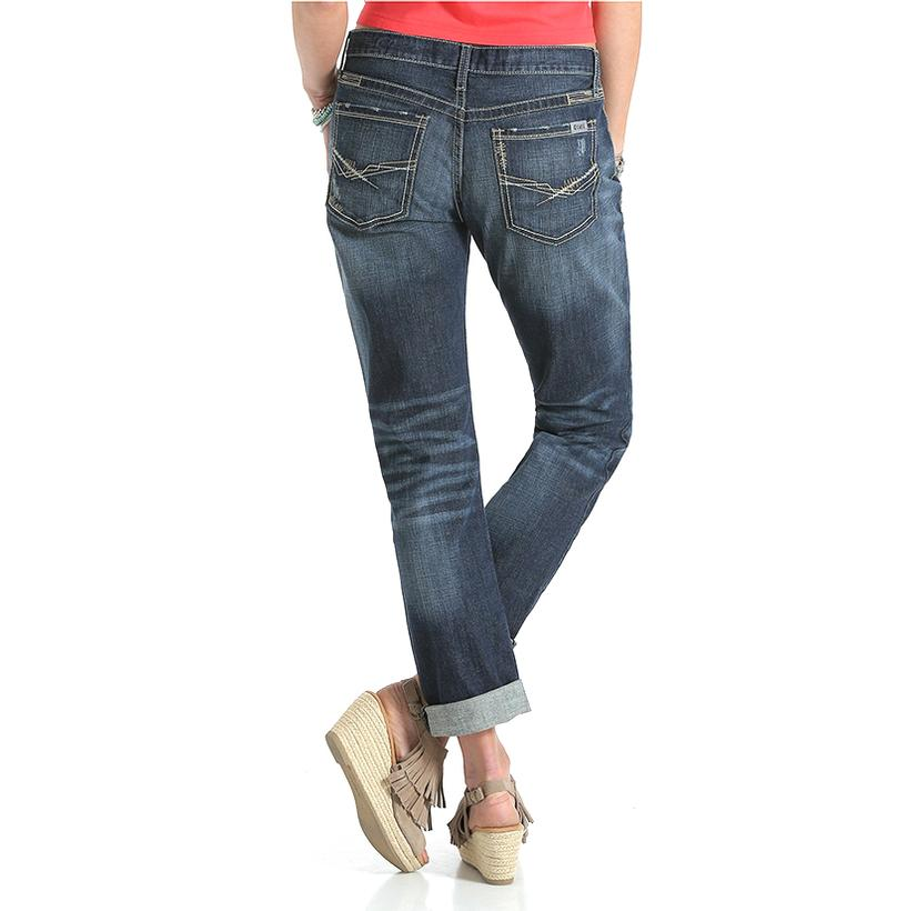 Cruel Girl Womens Rhyon Straight Leg Jeans