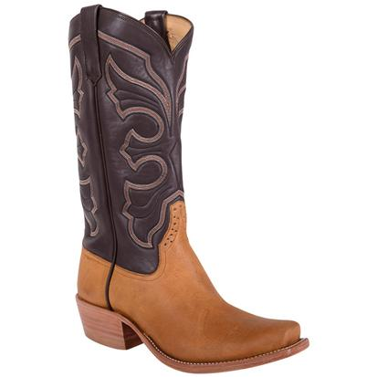 Rios of Mercedes Mens Crazy Horse Rust Tuff Stuff Chocolate Boot