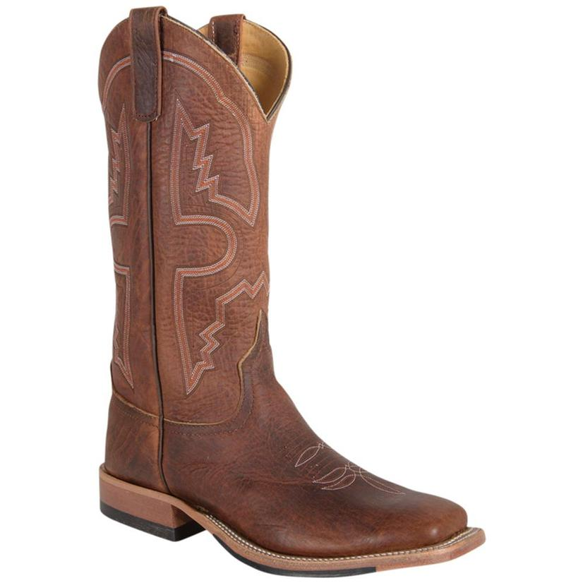Anderson Bean Mens Briar Bison Rust Boots
