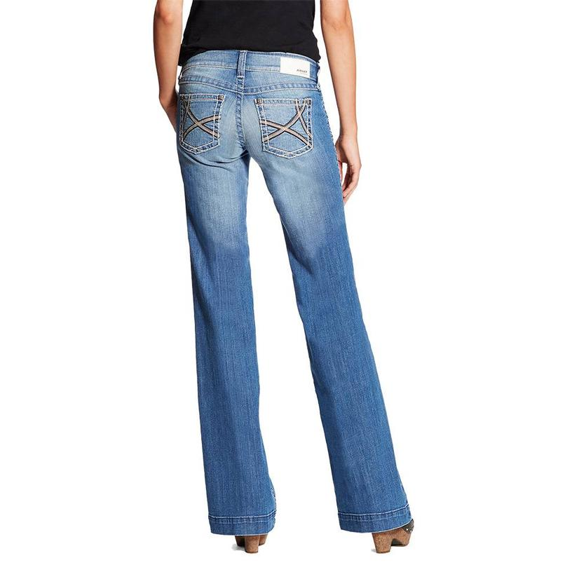 Ariat Women's Light Wash Ella Trouser Jeans