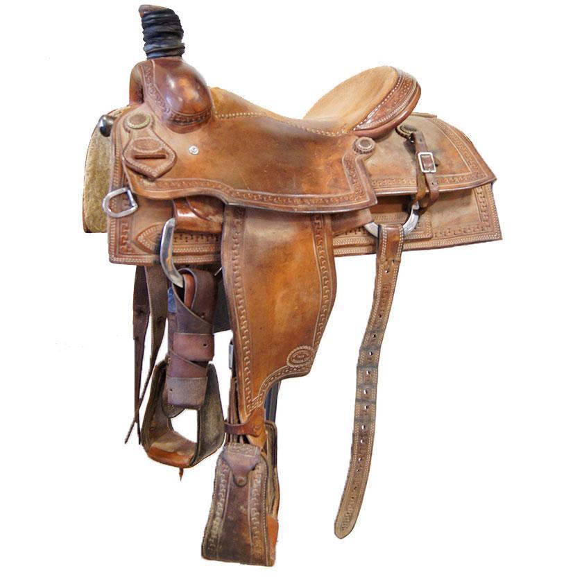 South Texas Tack Team Roper Saddle