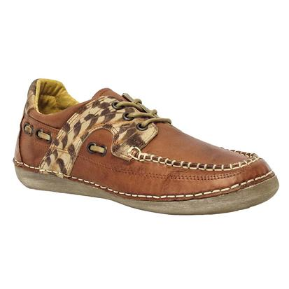 Cinch Women's Leopard Rider Casual Shoes