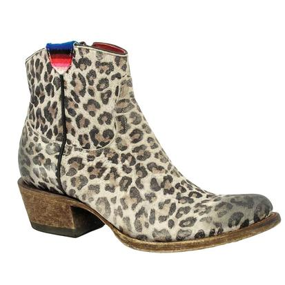 Macie Bean Gato Not So Grande Leopard Boots