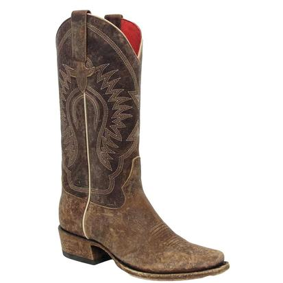 Macie Bean Womens Gringa Goes To Town Western Boots