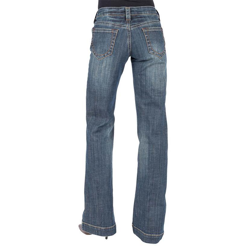 Stetson Womens Open Pocket Trouser Fit Jeans