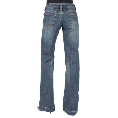 Stetson Womens Open Pocket Trouser Fit Jeans